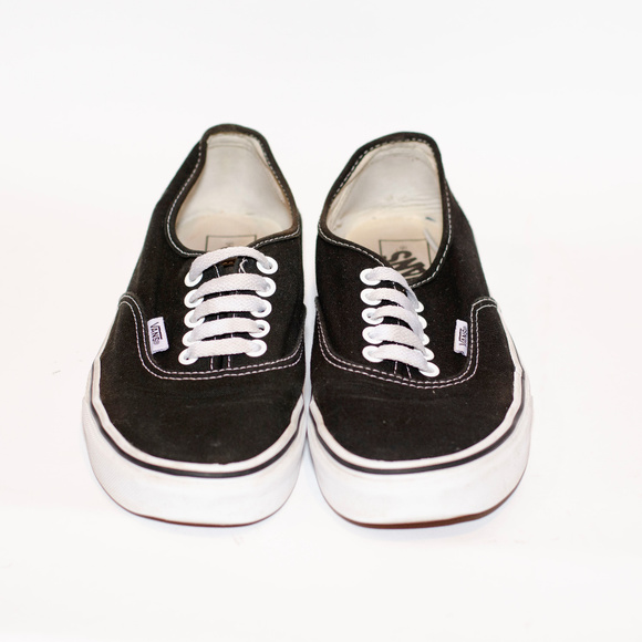 Vans Other - Vans Sneakers in Black w/White Sole